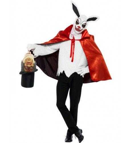 Halloween Konijn Tovenaar Kostuum Man