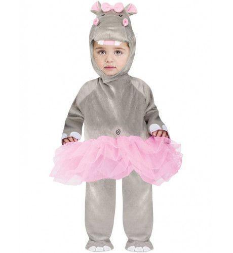 Peuter Nijlpaard Ballerina Kostuum Meisje