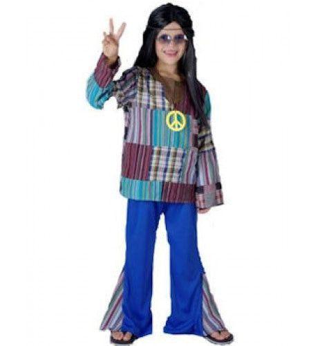 Jaren 60 Groovy Hippie Jongen Kostuum