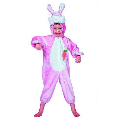 Snoezige Bunny Roze Kostuum