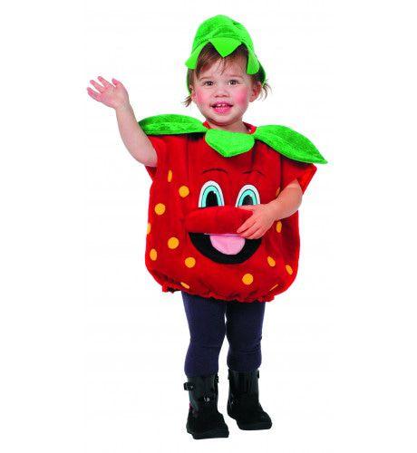 Lekker Fruitige Aardbei Baby Kostuum