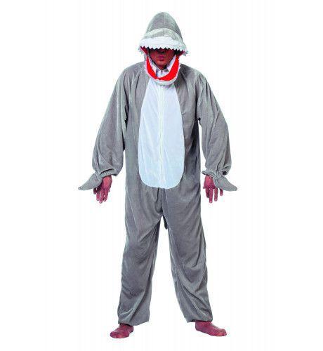 Gevaarlijke Pluche Haai Man Kostuum