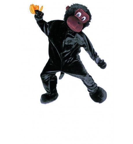 Full-Body Mascotte Aap Man Kostuum