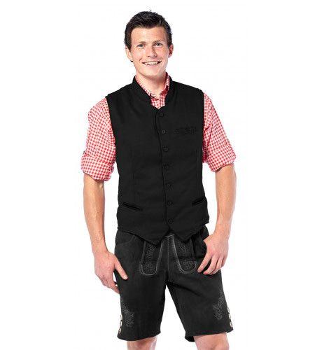 Bier Spetter Vest Deluxe Zwart Man