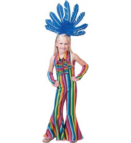 Ibiza Hippie Jumpsuit Meisje Kostuum