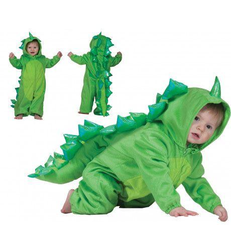Groen Dinootje Gino Kostuum