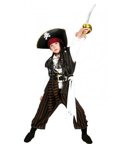 Piraat Rumvat Kostuum Jongen