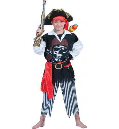 Piraat Nieuw Amsterdam Kostuum Jongen
