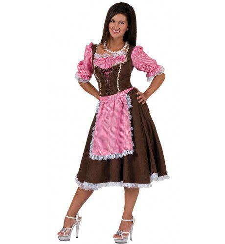 Dirndl Viktualienmarkt Vrouw Kostuum