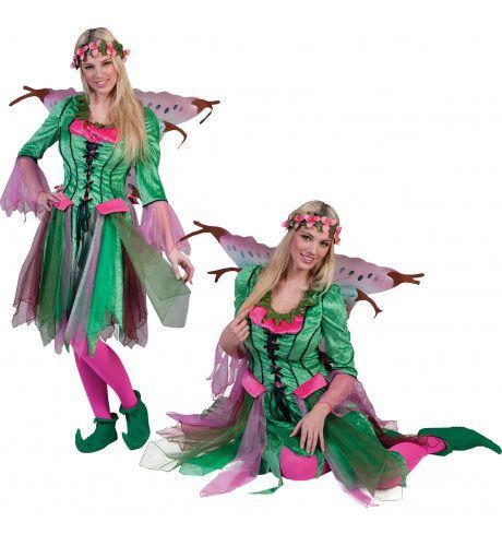 Rosy De Elf Vrouw Kostuum