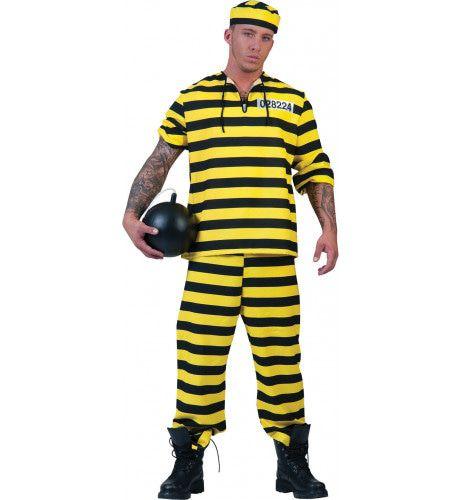 Dalton Gevangene Man Kostuum