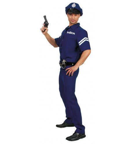 Amerikaanse Politie Man Kostuum
