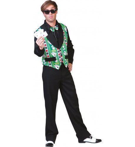 Party Poker Vest Man Kostuum