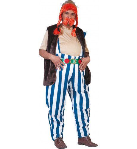 Obelix De Gallier Man Kostuum