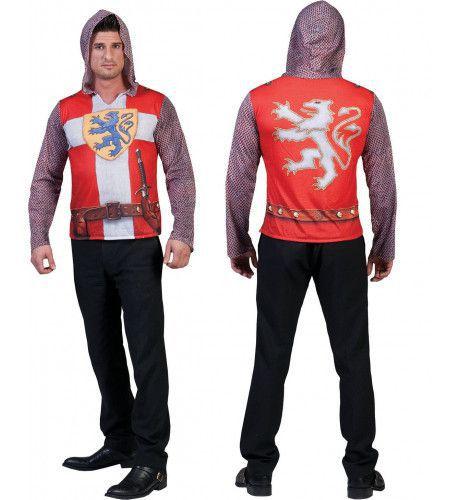 3d Shirt Ridder Man Kostuum