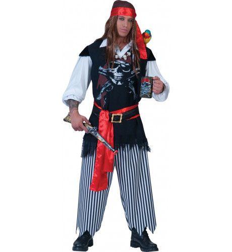 Piraat Nieuw Amsterdam Kostuum Man