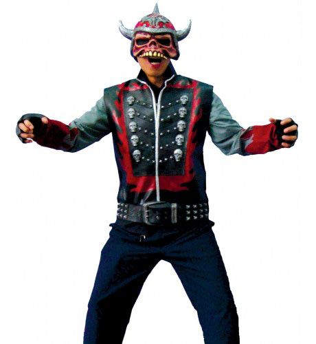 Flame Punker Man Kostuum