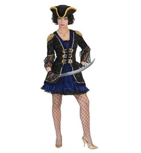 Stoutmoedige Pirate Pieternella Hein Vrouw Kostuum