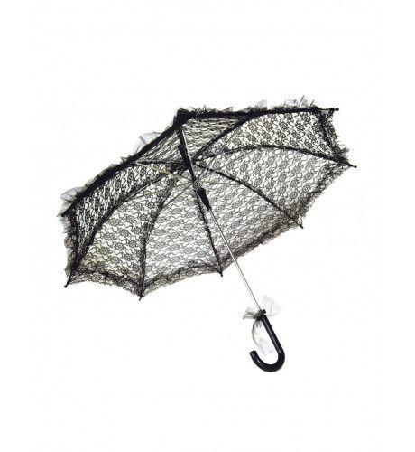 Kanten Parasol My Fair Lady Zwart