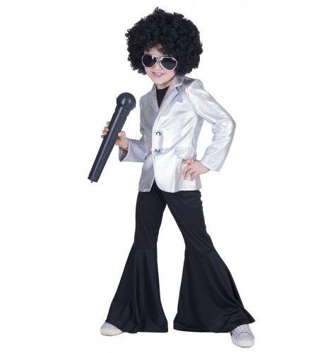 Disco Fever Popster Jas Zilver