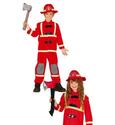 Heldhaftige Brandweerman Jongen Kostuum