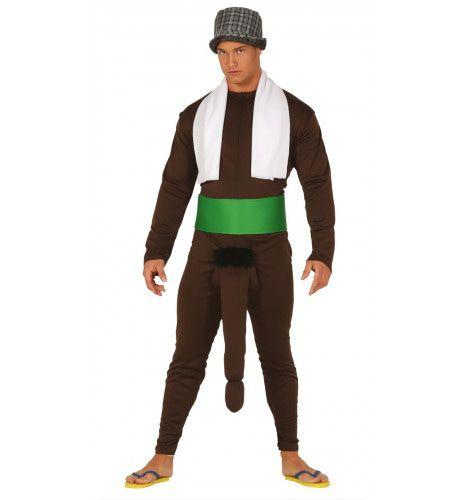 Loop Te Koop Met De Goede Zaak Man Kostuum