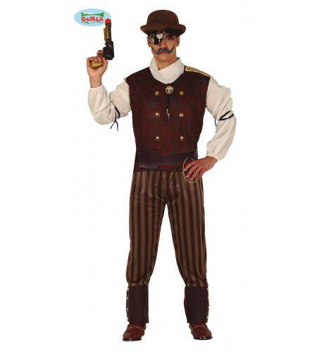 Historisch Steampunk Oldham Man Kostuum