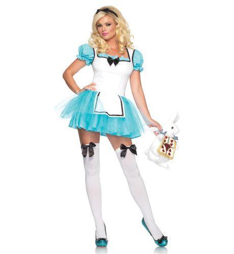 Alice In Wonderland Sexy Jurk Vrouw