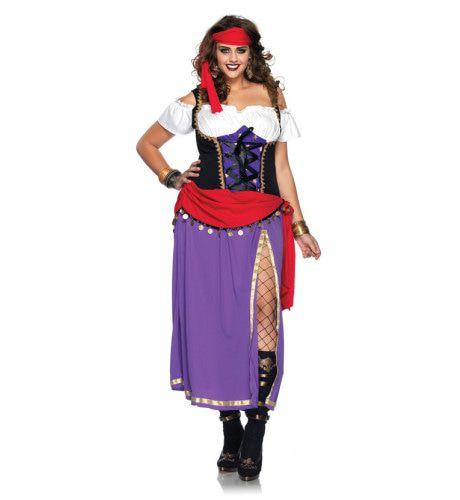 Bonte Zigeunerin Jurk Vrouw