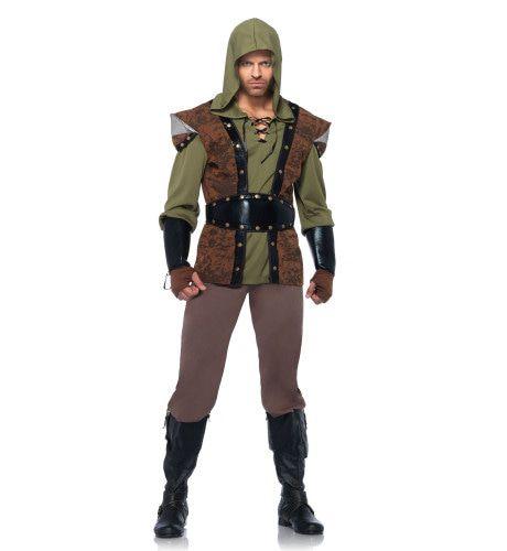 Stoer Robin Hood Kostuum Man