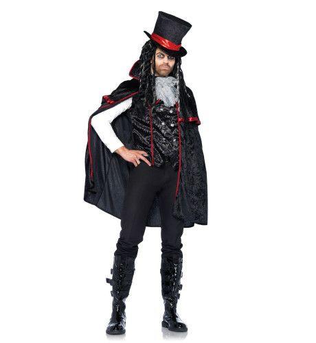 Elegant Mannen Vampier Kostuum
