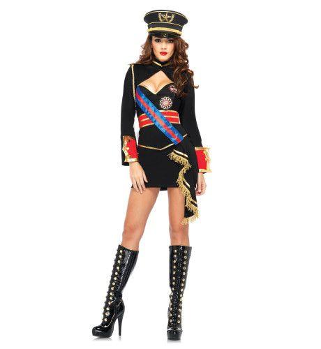 Spannende Dames Dictator Kostuum Vrouw