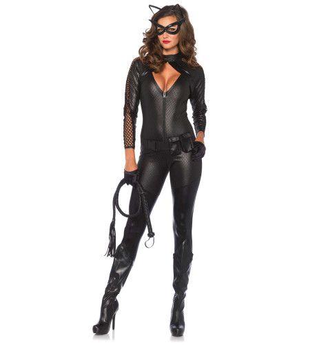 Bdsm Kitty-Cat Catsuit Vrouw Kostuum