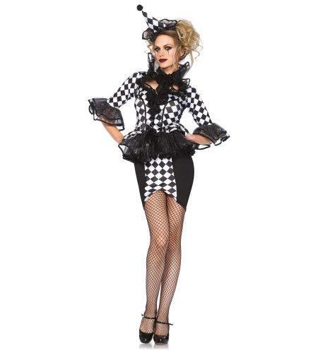 Seventies Circus Dames Kostuum Vrouw