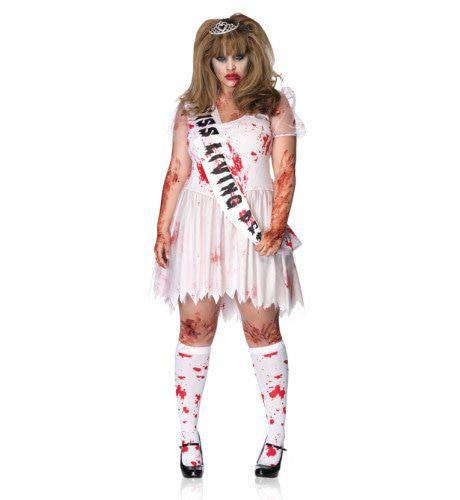 Horror Prom Queen Jurk Vrouw