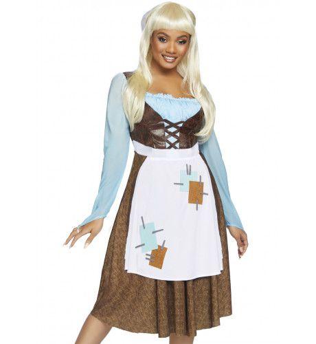 Huissloof Cinderella Kort Voor Het Bal Vrouw Kostuum