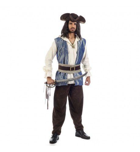 Prachtige Piraat Bill Board Man Kostuum
