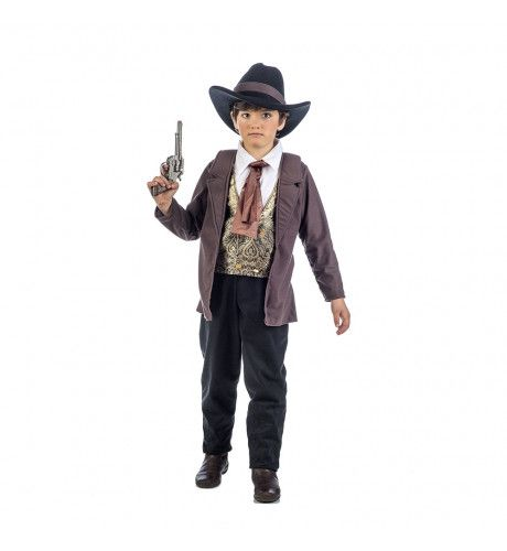 Stoere Sheriff Strenge Handhaver Van De Wet Wilde Westen Jongen Kostuum