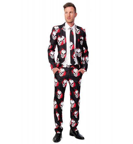 Halloween Honey Skulls Blood Suitmeister Kostuum Man