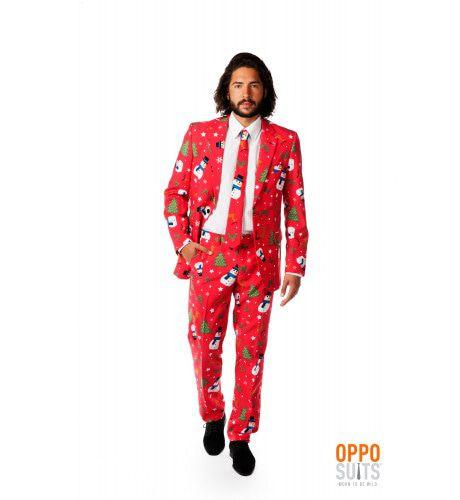 Christmaster Opposuit Kostuum Man