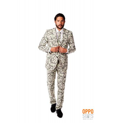 Cashanova Big Money Pimp Opposuit Kostuum Man