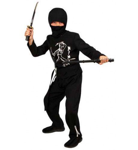 Jiraiya Ninja 3-Delig Jongen Kostuum