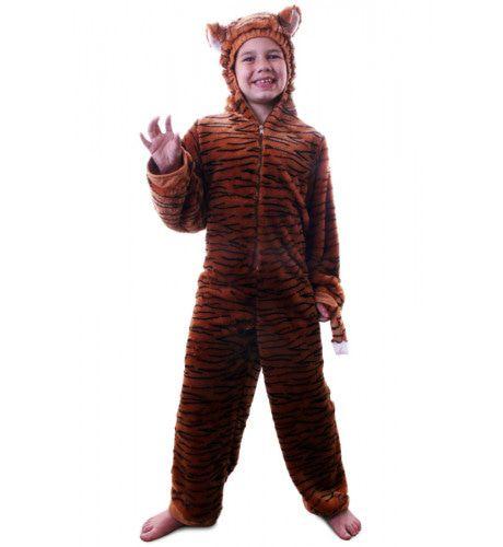 Tigra De Tijger Met Capuchon Kostuum