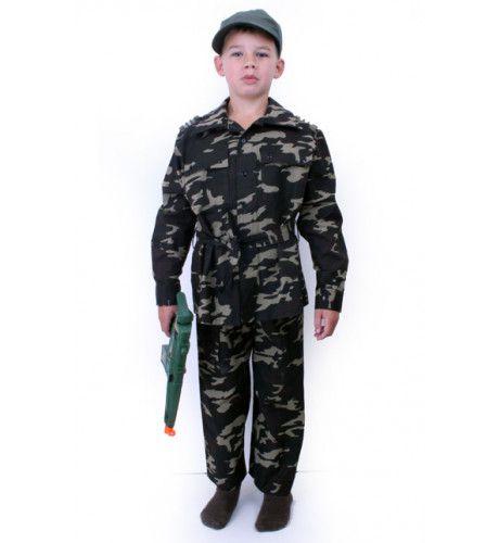 Corps Commando Troepen Jongen Kostuum