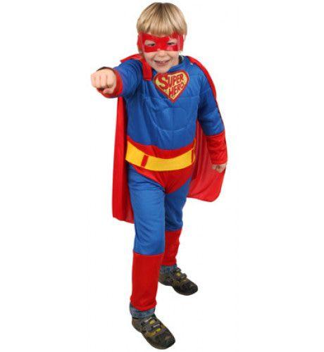 Super Hero Kostuum Met Masker Jongen
