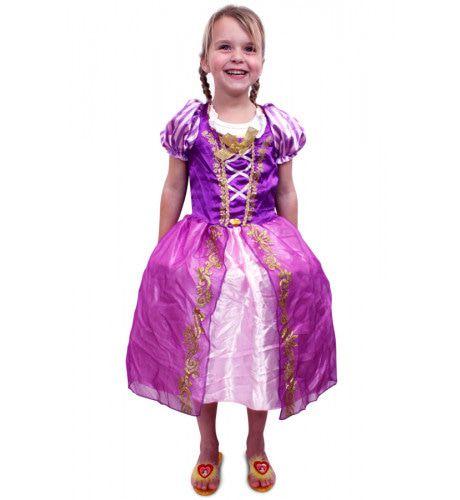 Prinses Paars-Roze Amalia Meisje Kostuum