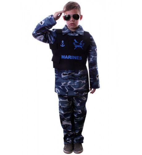 Marinier Paratrooper Kinderen Jongen Kostuum