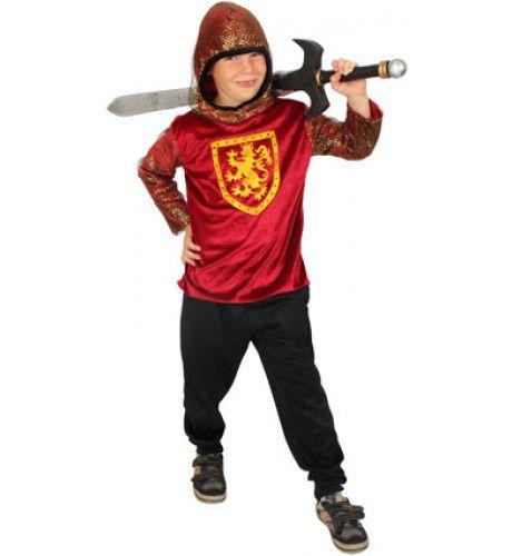 Ridder Trui Met Capuchon Jongen Kostuum
