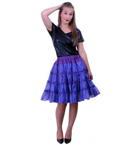 Rock A Baby Petticoat 5 Laags Paars Vrouw Kostuum