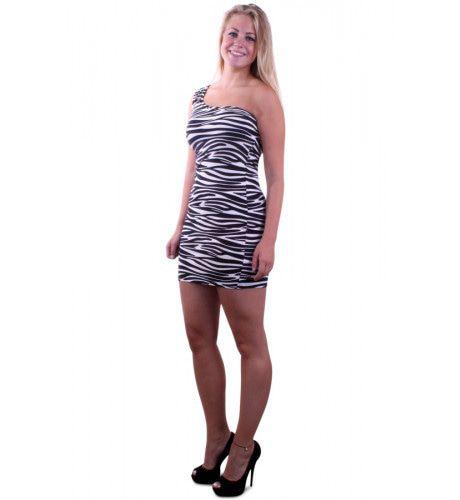 Spannend Zebrajurkje Vrouw